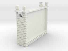 NV4M07 Modular metallic viaduct 1 in White Natural Versatile Plastic