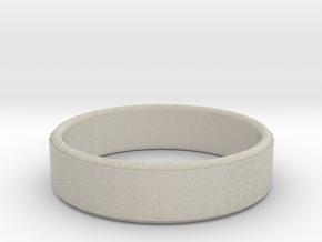 Ring plain in Natural Sandstone