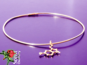 Serotonin in 18k Gold Plated Brass
