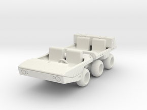GV08 ATV/Moon Buggy in White Natural Versatile Plastic