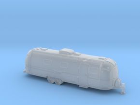 N Gauge - Classic American Trailer in Smooth Fine Detail Plastic