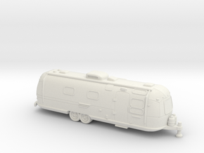 TT Gauge - American Trailer in White Natural Versatile Plastic
