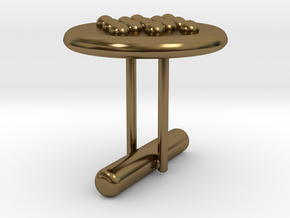 Cufflink Style 5 in Polished Bronze