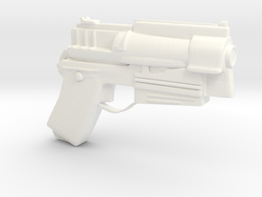 Fallout 4 10 mm pistol (Larger/better sized) in White Processed Versatile Plastic