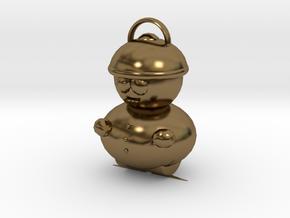 Cartman Pendant in Polished Bronze