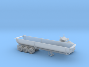 Cylinder Dump Bed 40 Footer N Scale in Smooth Fine Detail Plastic