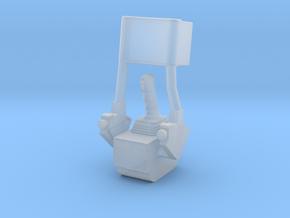 F12F-Folded ATCA Armrest-LMP Side in Smooth Fine Detail Plastic