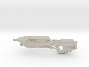 Halo 5 Assault rifle 1/6 Scale in Natural Sandstone