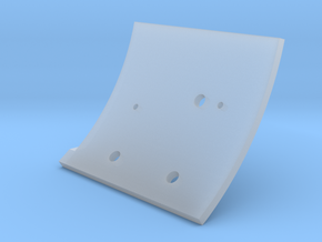 F15A-Right Wall in Smooth Fine Detail Plastic
