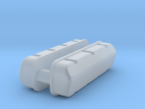1/32 BBC Plain Valve Covers in Frosted Ultra Detail