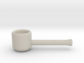 Weed Pipe 2 in Natural Sandstone
