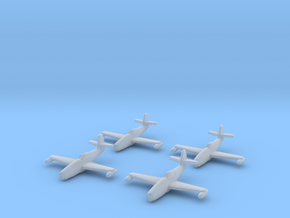 1/350 Yakovlev Yak-23 (landing gear up) x4 in Smooth Fine Detail Plastic
