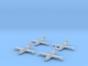 1/350 Yakovlev Yak-23 (landing gear up) x4 in Smooth Fine Detail Plastic