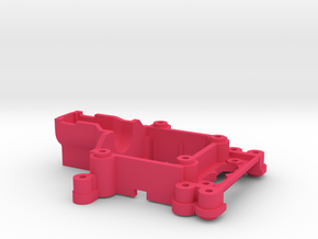 Myproto MPV5B Front End for Kyosho MR-03 servo in Pink Processed Versatile Plastic