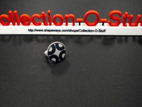 "Dazzle ""Four Segment"" Pattern Ring - Size 11.5 in Full Color Sandstone"