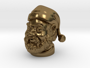 Santa Claus  in Polished Bronze