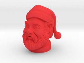 Santa Claus  in Red Processed Versatile Plastic