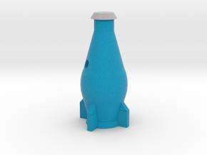 Nuka-Cola Quantum Keyring (In-Game) in Full Color Sandstone
