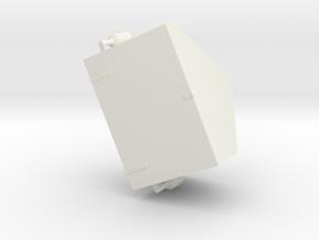 1/16 Churchill Turret Case - Turm Staukiste in White Natural Versatile Plastic