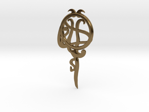 Pisces[Constellation Magic Series] - Key Style in Polished Bronze