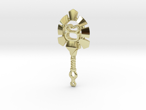 Taurus[Constellation Magic Series] - Key Style in 18k Gold Plated Brass