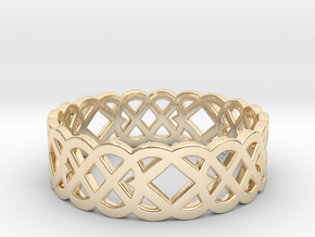 Size 10 Knot C4 in 14K Yellow Gold