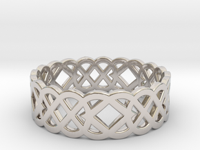 Size 11 Knot C4 in Platinum