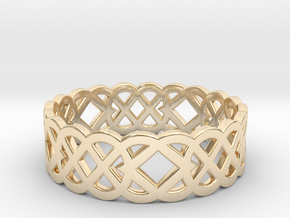 Size 12 Knot C4 in 14K Yellow Gold