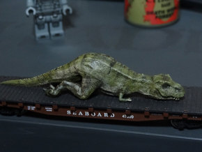 T. Rex (sedated) in N Scale 1:160  in White Strong & Flexible