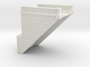 NV4M10 Modular metallic viaduct 1 in White Natural Versatile Plastic
