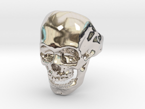 The Original Skull Ring in Platinum