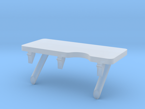 F08A-Unfolded Panel 6 Table in Smooth Fine Detail Plastic