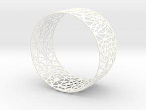 Frohr Design Easy Construction Bracelet  in White Processed Versatile Plastic