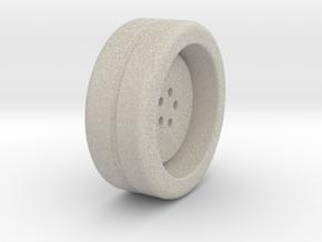Wheel Base in Natural Sandstone