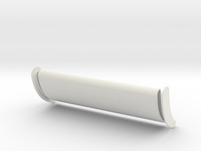 Big Rig Wing 1/25 in White Natural Versatile Plastic