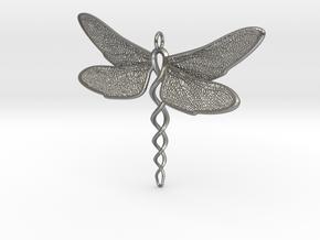 Dragon in Natural Silver