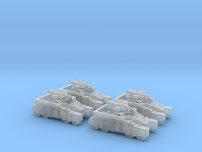 Light Assault Walker Platoon Stowed On Transport 6 in Smooth Fine Detail Plastic