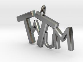 Tatum in Premium Silver