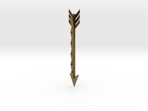 Arrow Bobby Pin in Polished Bronze