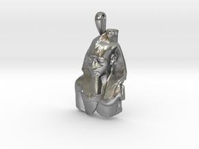Ramesses II, Ozymandias, pendant in Natural Silver