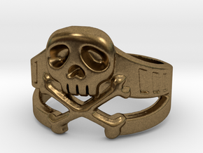 Space Captain Harlock | Ring Size 9 in Natural Bronze: 9 / 59