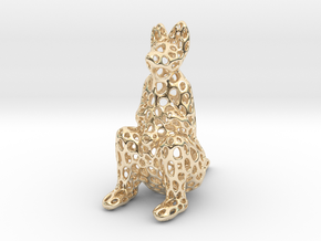 Kangaroo in 14K Yellow Gold