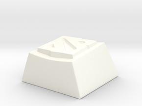 DotaKey01 in White Processed Versatile Plastic