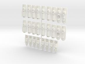 1/700 Vietnam River Assault Division in White Processed Versatile Plastic