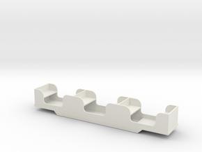 Stapleford Miniature Railway Coach in White Strong & Flexible