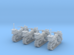 28mm Vezdekhod tracked vehicle (4 pieces) in Frosted Ultra Detail