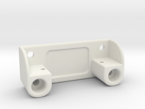 HXT900-servo support, sideways mounted in White Natural Versatile Plastic