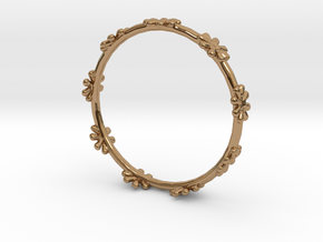 Bangle Design in Polished Brass