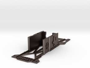 Walkera Runner 250 'BATTERY TRAY' RACING EDITION in Polished Bronzed Silver Steel