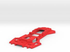 Walkera Runner 250 - Raptor 'Racing' Upper Tray in Red Processed Versatile Plastic